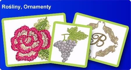 Rośliny, ornamenty