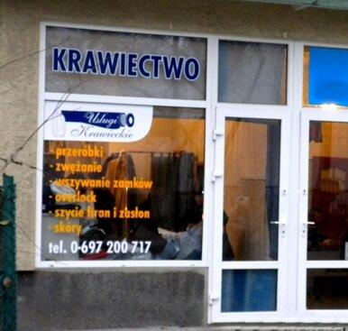 Usługi Krawieckie ul. Madalińskiego Warszawa