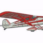 B12 Haft Mały Samolot