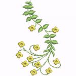 D13 Haft Rozwijajacy Kwiat