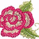 D40 Haft Little Rose