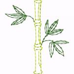 D46 Haft Bambus