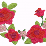 D53 Haft Roses
